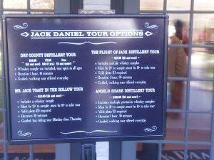 Jack Daniel Tours