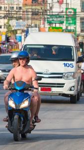 motorbike rental phuket dickhead moped riders